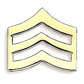 Sergeant Rank Pin